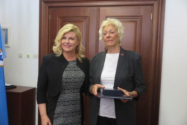 Grabar Kitaroviæ posthumno odlikovala istarskog antifašistu Ljub