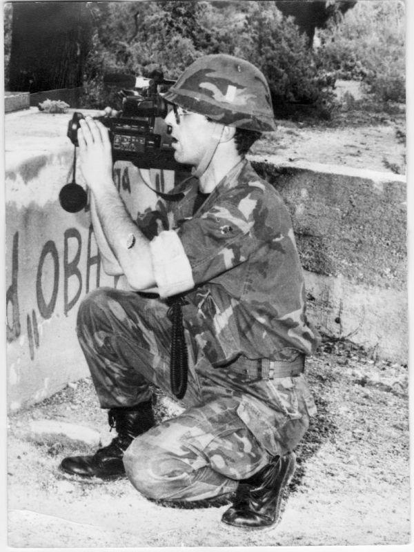 Lučić 1992. godina na groblju Velika Glava (Foto: Aleksandar Lalica)