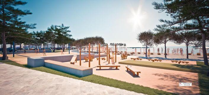 Ovako bi plaža trebala izgledati prema projektu