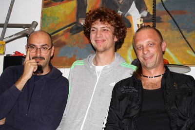 Magul: Ante Prgin, Božo Bilušić i Ivica Crvelin (Foto: TRIS)