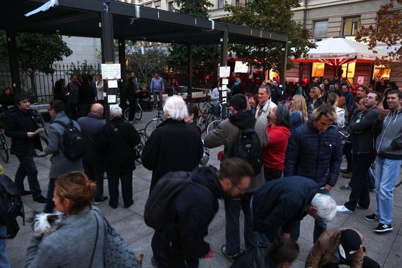 Bandić: U petak se uklanja terasa na Cvjetnom trgu