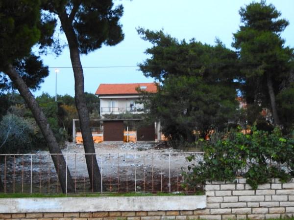 Mjesto na kojem je donedavno bila kuća Matulja (Foto: TRIS)
