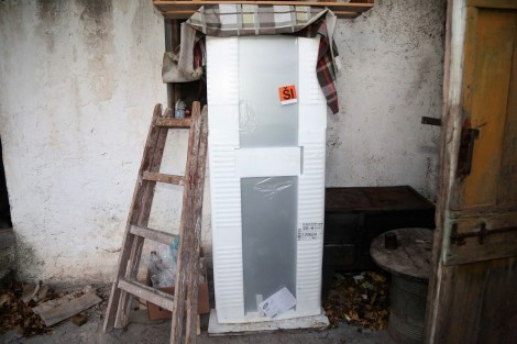 Andrija neće tako skoro raspakirati poklonjeni frižider