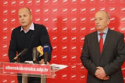 Šibenski SDP o gradskim financijama: Gradonačelnik Burić je majstor iluzije