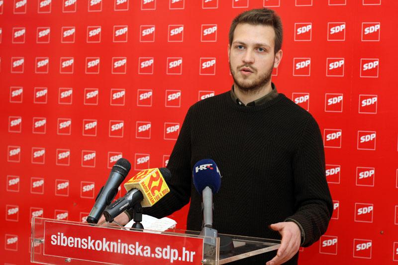 Forum mladih SDP-a: Tražit ćemo od Županije da se razmisli o ostavci Josipa Belamarića