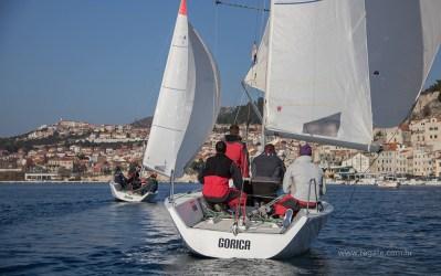 Flotno jedrenje u Šibeniku (Foto: regate.com.hr)