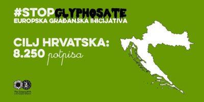 Građanska inicijativa prikupljanja potpisa za zabranu glifosata u Europskoj uniji