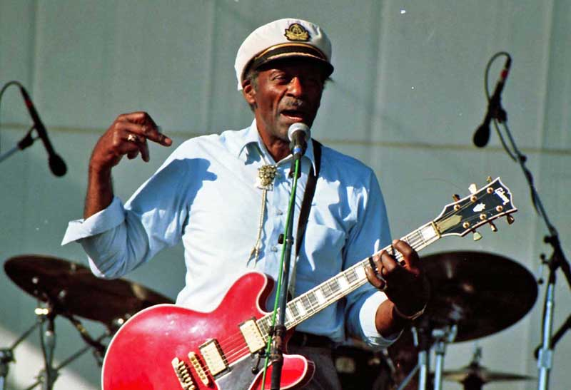 Chuck Berry (Foto: Masahiro Sumori/Wikipedia)