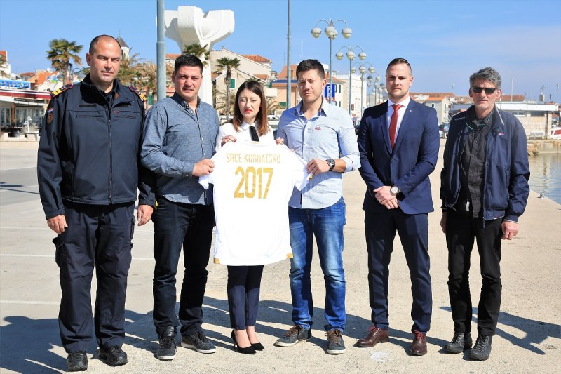 Darko Dukić, Tomislav Strikoman, Ana Radunić, Ante Sladoljev, Ivan Kos i Ivica Strikoman (Foto: Tris/H. Pavić)