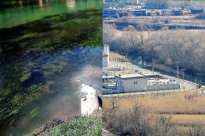 Kanalizacijski ispust kod Atlagića mosta i sedam milijuna eura vrijedan kninski pročistač (Foto: Tris/M. C.)