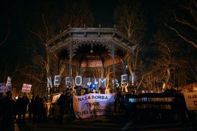 Feministički kolektiv fAKTIV: Noćni marš za seksualna i reproduktivna prava žena!