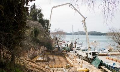 Betoniranje temelja nove zgrade JK Val (foto: JK Val)