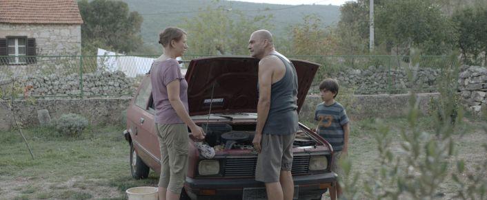 Scena iz filma: Lana Barić, Milivoj Beader i Roko Glavina (foto: Trešnje)