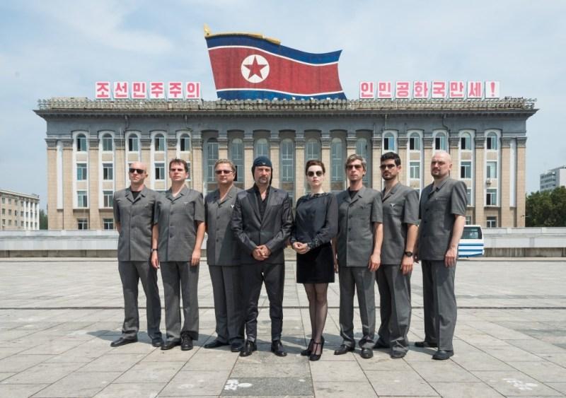 Laibach u Sjevernoj Koreji (Foto: Laibach.org)