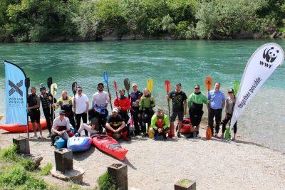 """Balkan Rivers Tour 2 :""""Veslima protiv brana"""" – kampanja za očuvanje i zaštitu prirodnih rijeka"""