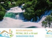 Bioolimpijada na Skradinskom buku