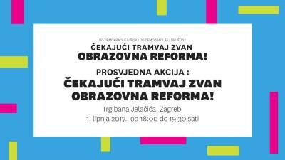 Prosvjedi za kurikularnu reformu u 6 gradova