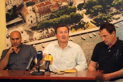 Darko Gardijan, Željko Bajalica i Branko Dragović (Foto: Jozica Krnić)