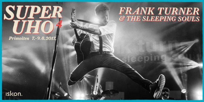 Novi jaki aduti SuperUho festivala: Dolaze Frank Turner i The Membranes!