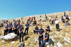 Kolege vatrogasci (foto TRIS/Jozica Krnić)