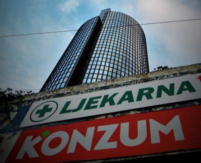 Ljekarna, Konzum, Agrokor... (foto TRIS/G. Šimac)