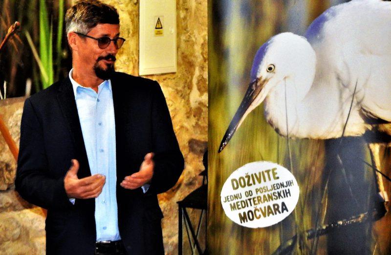 Danijel Katičin: Mi smo tu radi zaštitie prirode,a ne zbog ugostiteljstva (foto TRIS/G. Šimac)