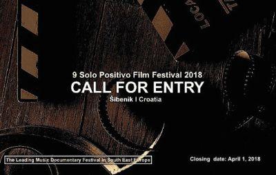 Otvoren natječaj za glavni program 9. Solo Positivo Film Festivala u Šibeniku