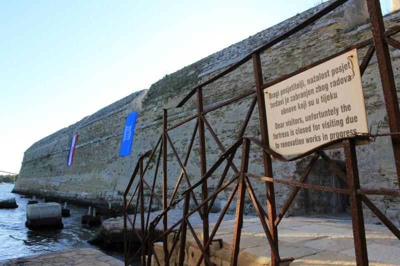 UNESCO-va zastava zaviorila na tvrđšavi sv. Nikole (Foto: Jozica Krnić/TRIS)