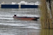 Odlutali čamac (foto TRIS/G. Šimac)