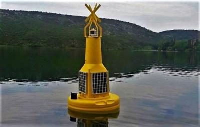 Žuta plutača na Visovcu: Od 0 do 24 sata će slati podatke o čistoći Krke