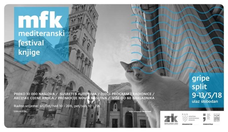 Guštajte u librima na 2. Mediteranskom festivalu knjiga