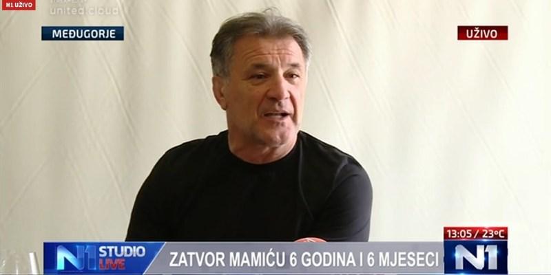 Zdravko Mamić (screenshot/N1)