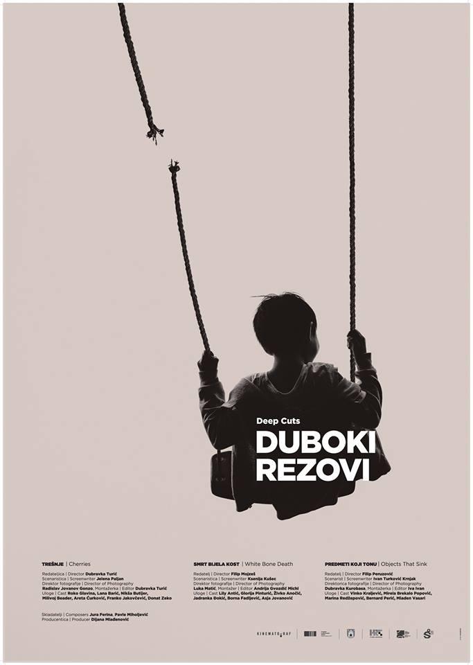 Plakat 'Dubokih rezova'