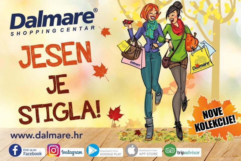 Jesen je stigla: Nezaboravna modna jesen u Dalmare centru