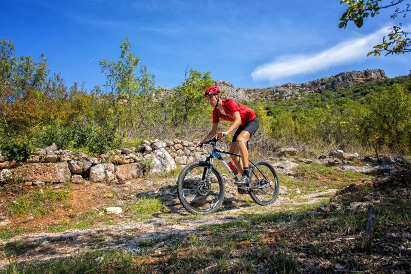 Kretanje uz pomoć bicikla (foto NP Krka)