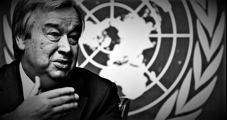 UN tajnik Gutteres (ilustracija)