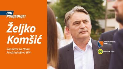 Željko Komšić u HTV-ovoj emisiji Nedjeljom u 2: Mi nismo predstavnici, nego pripadnici naroda, zaklinjemo se BiH, a ne narodu