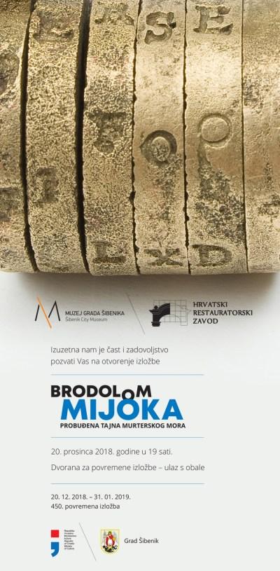 """Plijen potonulih pirata: Izložba """"Brodolom Mijoka – probuđena tajna murterskog mora"""""""