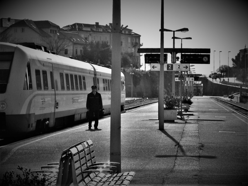 Arhiva: splitski željeznički kolodvor prije par godina (foto TRIS/G. Šimac)