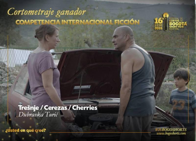 'Trešnje' Dubravke Turić u cvatu: Najbolji kratki film na Bogotá Short Film Festivalu
