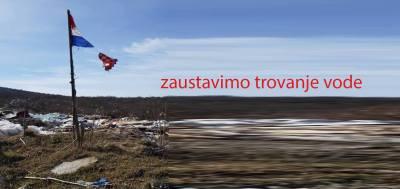 Prosvjed u Dugopolju: Zaustavimo trovanje vode, dolje žive ljudi!