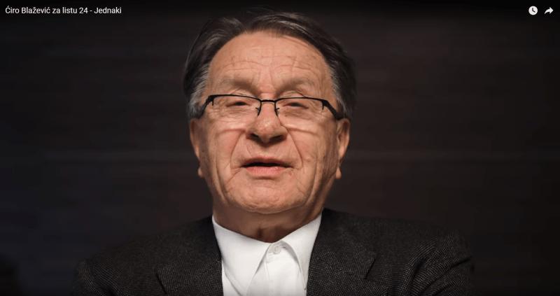 VIDEO – Miroslav Blažević u spotu za SDSS i Milorada Pupovca: Sine, slušaj ti šta ti tvoj Ćiro kaže… svi ljudi su jednaki