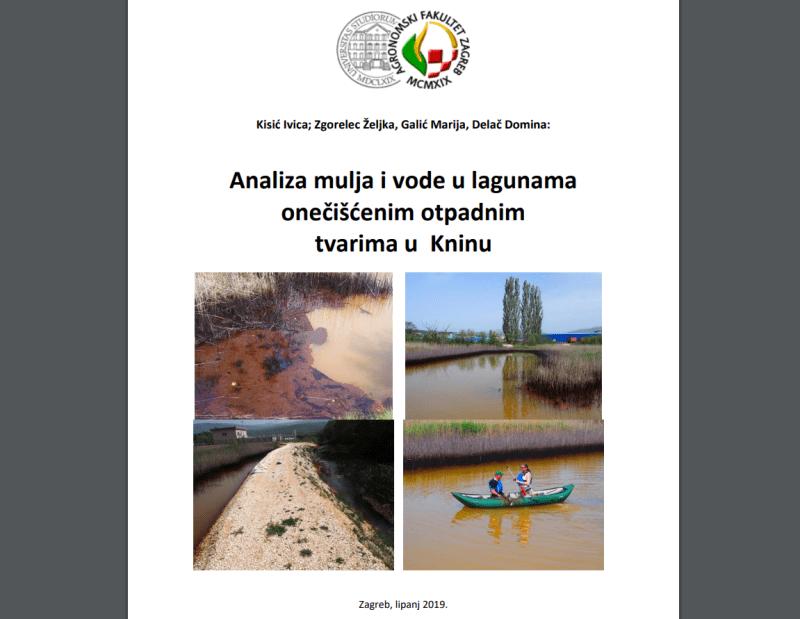 Konačno javno dostupno izvješće o analizi vode i mulja u tzv. kninskoj laguni: 'Neosporno je da je onečišćena lokacija ekstremno visoko rizična za okoliš'