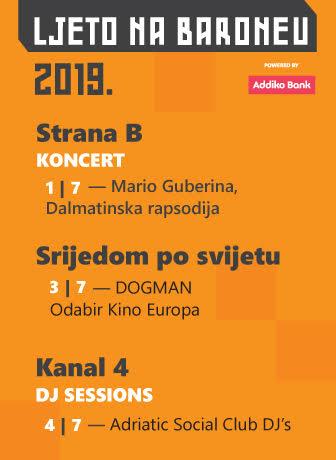 Ljeto na Baroneu: Dalmatinska jazz rapsodija, Dogman i DJ's zalazak sunca