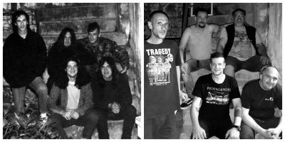Foto: Nula 1993. i članovi Nule Frua, Mitre, Roša, Jorde i Meniga 2019.
