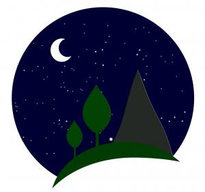 Logotip tamnog neba