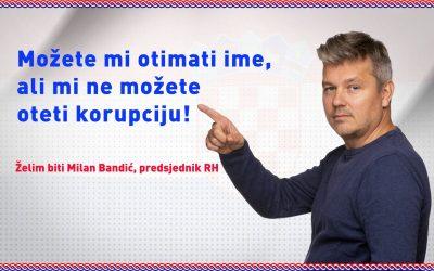 Plakat Milana Bandića ranije poznatog kao Dario Juričan (foto Facebook)