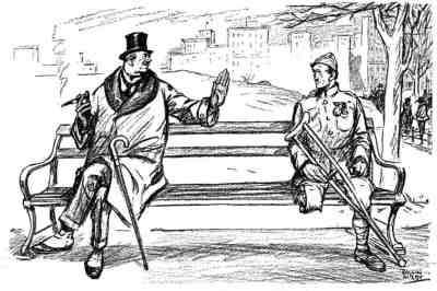 Ilustracija - karikatura Rollin Kirby (1875-1952)