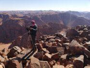 Na vrhu Jordana. U pozadini Saudijska Arabija (foto: Joso Gracin Joka/Nina Živković)