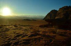 Predivan zalazak sunca u pustinji (foto: Joso Gracin Joka/Nina Živković)